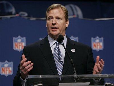 NFL Commissioner  Roger  Goodell  ..........