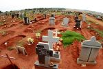 Eudy Simelane's grave in the township of Kwa Thema. courtesy of espn.com/ Joel & Edwrds .......