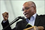Jacob Zuma President of South Africa . AFP/Reuters/ Paul Thuiszen .....